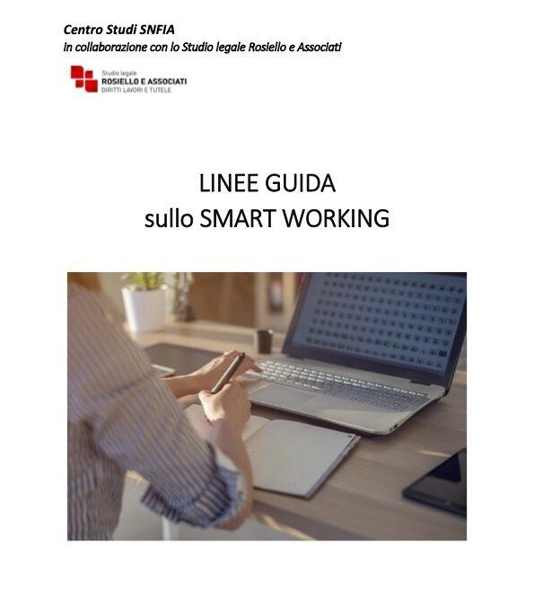 Centro Studi Snfia – Linee Guida sullo Smart Working